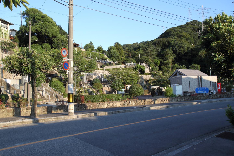 長迫公園(旧海軍墓地)