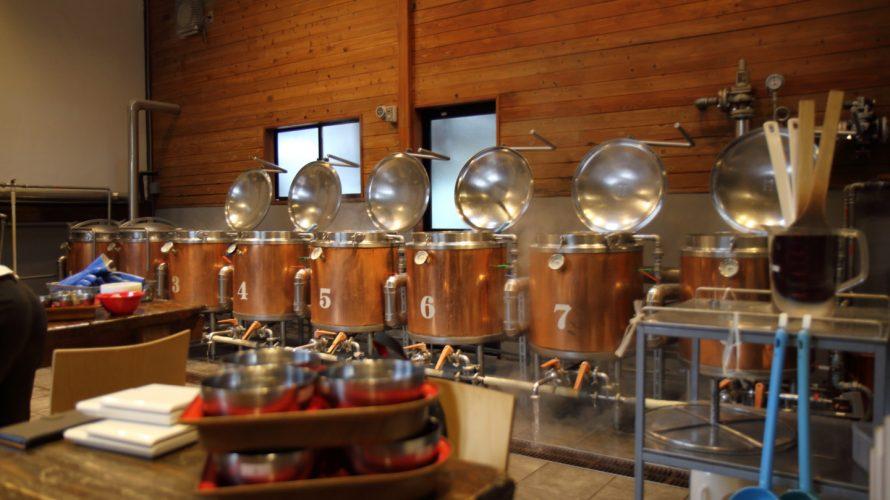 木内酒造の手作りビール工房でビールを造ったその1