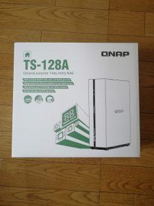 TS-128Aの箱