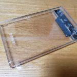 ORICOの透明2.5インチ HDD クリア SSD 外付け ドライブケース 2139U3を買ったよ