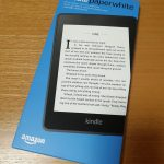 kindle Paperwhiteの外箱