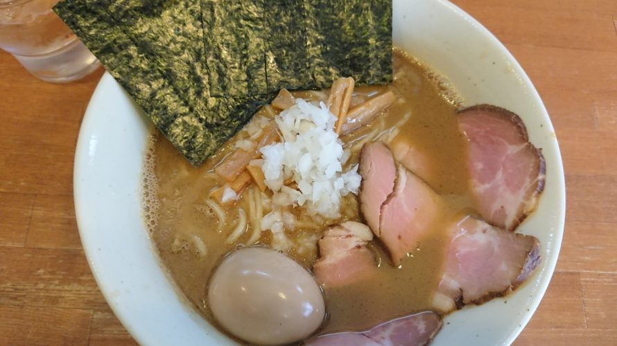 小岩 麺屋 清水 特製魚介らーめん