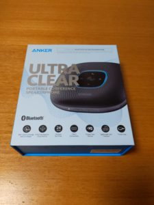 Anker PowerConfの箱の外観