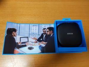 Anker PowerConfの箱の内側