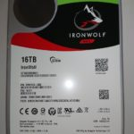 Seagate IronWolf 16TB(ST16000VN001)を貰いました